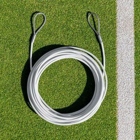 Tennis Net Headline Wire | Double Loop | Durable Tennis Net Headline Wire Cable | Net World Sports