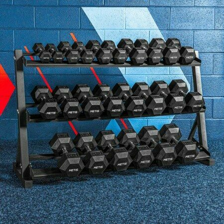 Dumbbell Rack Set With/Without Dumbbells | Net World Sports