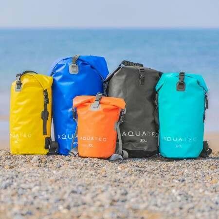 AquaTec Dry Bag Rucksacks [5 Sizes] | Net World Sports