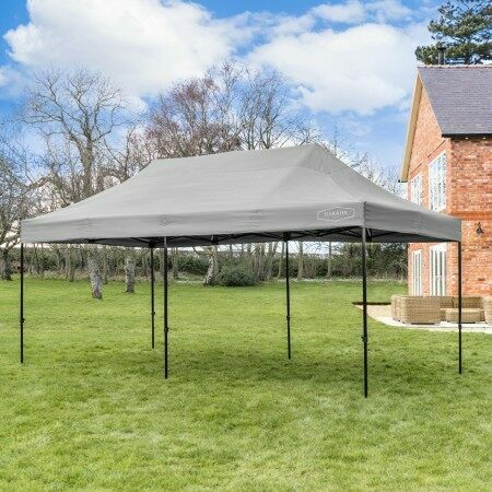 Harrier Deluxe Pop Up Gazebo [3m x 6m] | Net World Sports
