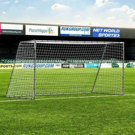 3.7m x 1.8m FORZA Steel42 Football Goal | Net World Sports