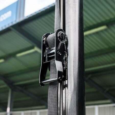 Box Goal Ratchet & Straps System | Net World Sports