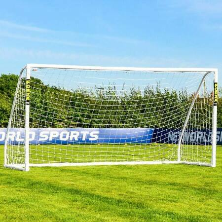 12 x 6 (3.7m x 1.8m) FORZA Match Football Goal Post | Net World Sports Australia