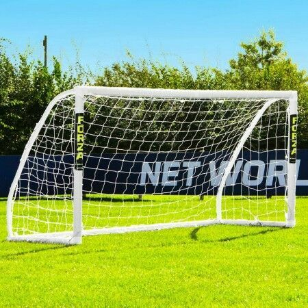 8 x 4 (2.4m x 1.2m) FORZA Match Football Goal Post | Net World Sports Australia