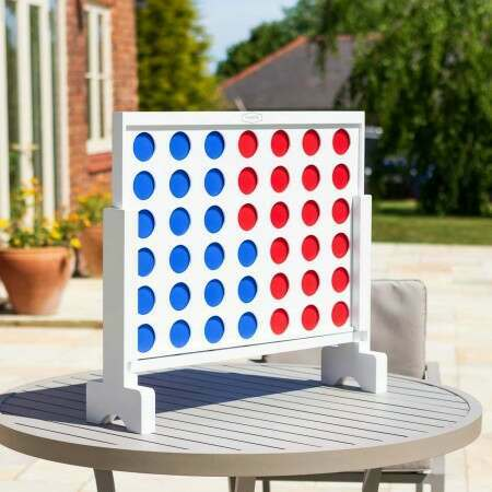 Premium Giant Connect 4 | Outdoor Garden Games | Net World Sports