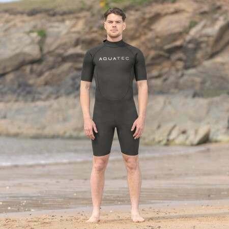 AquaTec Beginner 2mm Shorty Men's Wetsuit | Net World Sports
