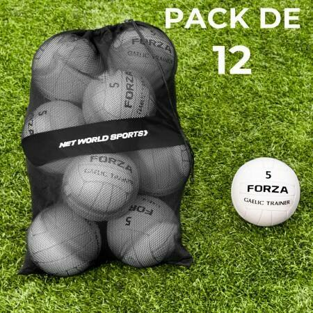 Balones de Fútbol Gaélico con bolsa de transporte [Pack de 12]