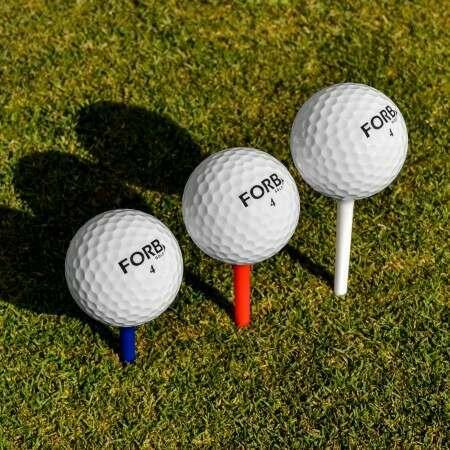 FORB Golf Tees - 200 Jumbo Pakket (Verschillende afmetingen)