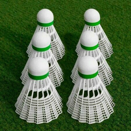 Club Grade Shuttlecocks Pack Of 6 | Badminton Equipment | Badminton | Net World Sports