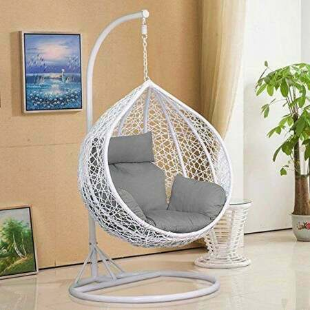 Harrier Hanging Egg Swing Chairs [2 Sizes] | Net World Sports