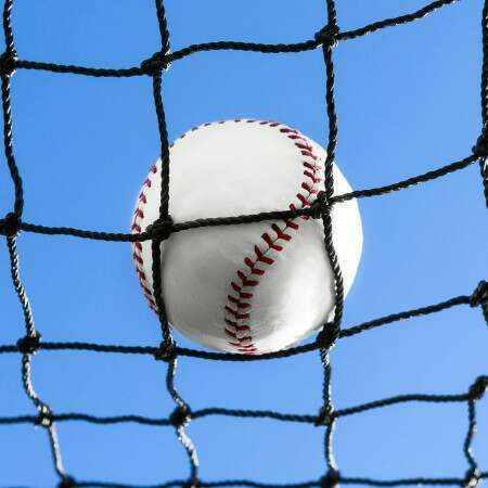 2mm Knotted HDPE Twine Netting For Baseball | Net World Sports