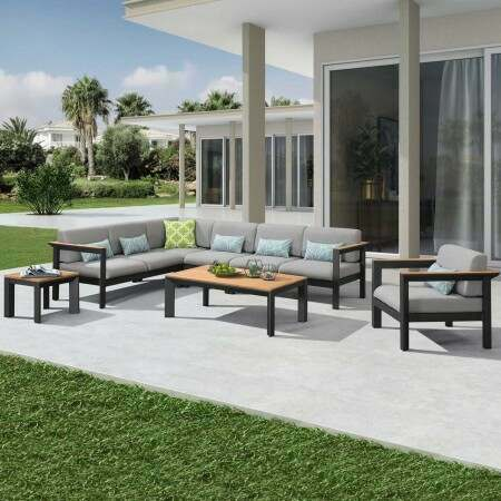 Harrier Luxury Garden Sofa & Table Set | Net World Sports