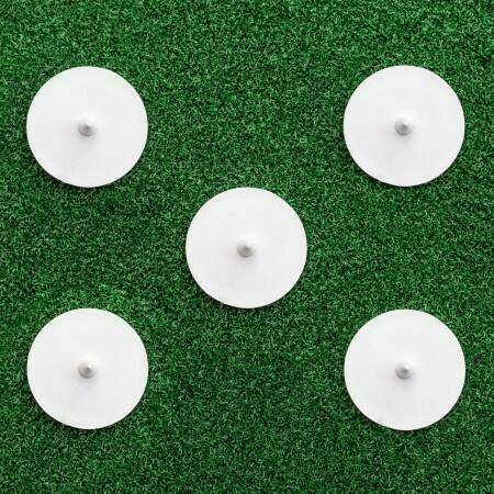 Cricket Bowlers Run-Up Marker Discs