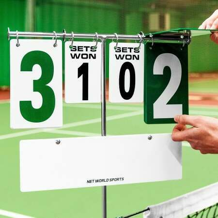 Tennis Post Scoreboard | Post Mounted