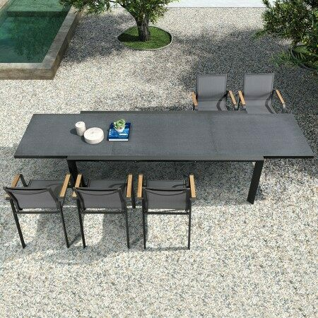 Harrier Extendable Outdoor Dining Table | Net World Sports