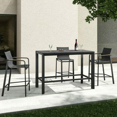 Harrier Outdoor Bar Stools & Table Set | Net World Sports