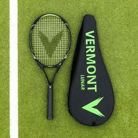 Vermont Lunar Tennis Racket | VPG Tek Construction | Senior Tennis Racket For Club Players | Net World Sports