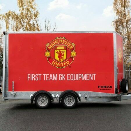 Sports Equipment Box Trailer