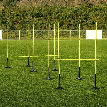 Speed And Agility Boundary Pole Hurdle Set