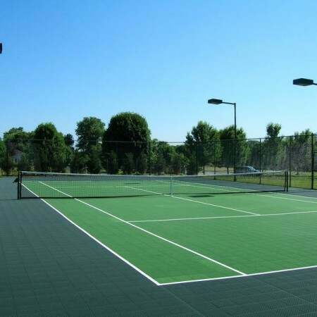Tennis Court Modular Floor Tiles System 1