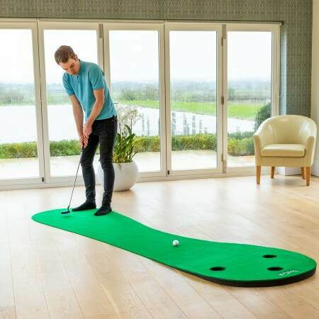 High Quality Golf Putting Mat For Home Use | 3m Or 3.7m Available | Net World Sports