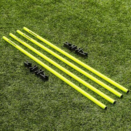 Speed And Agility Boundary Poles With Clips Set
