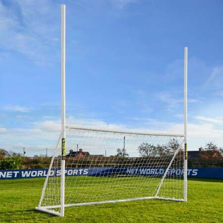 FORZA Gaelic Football Combination Goal Posts | 12ft x 6ft For The Garden | Net World Sports
