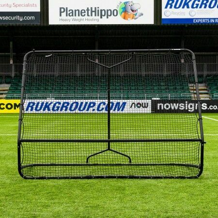 Dual-Angle Football Training Bounce Back Rebounder