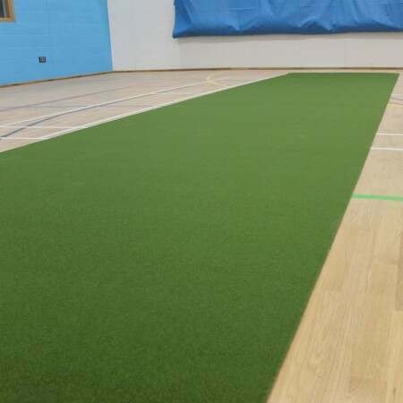 Roll Down Cricket Matting - 6.5ft Wide (Indoor/Outdoor)