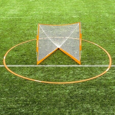 Portable Lacrosse Crease  - Regulation Size [18/17ft]