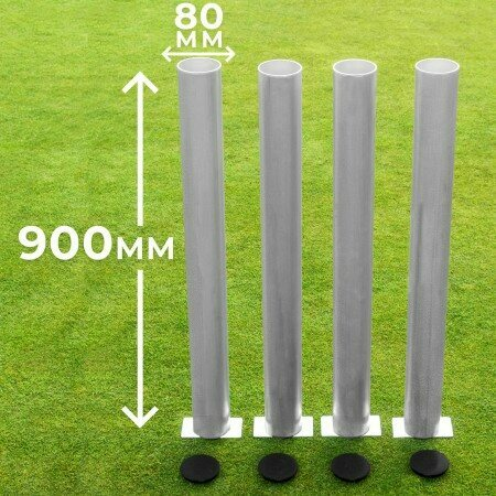 950mm Deep Ground Socket (to suit 80mm Round Posts) | Net World Sports