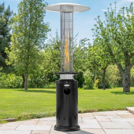 Harrier Cylinder Gas Patio Heater | Net World Sports