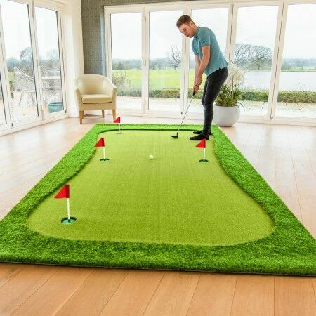 Large Indoor Putting Green