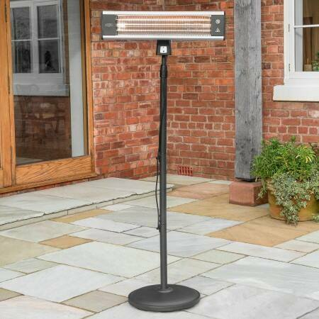 Harrier 1800W Tower Patio Heater | Net World Sports