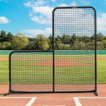 Fortress 7ft x 7ft Baseball L-Screen Frame and Net