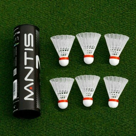 Competition Grade Shuttlecocks Pack Of 6 | Badminton Equipment | Badminton | Net World Sports