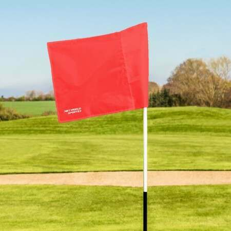 Golf Flags and Distance Markers - White
