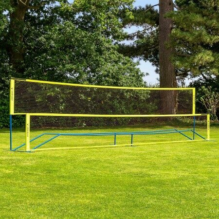 Vermont ProCourt Mini Tennis & Badminton Combi Net | Portable Mini Tennis Nets | Backyard Sports For Families | Net World Sports