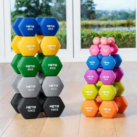 Heax Dumbbells For Home Workouts, Gyms & Schools | Net World Sports