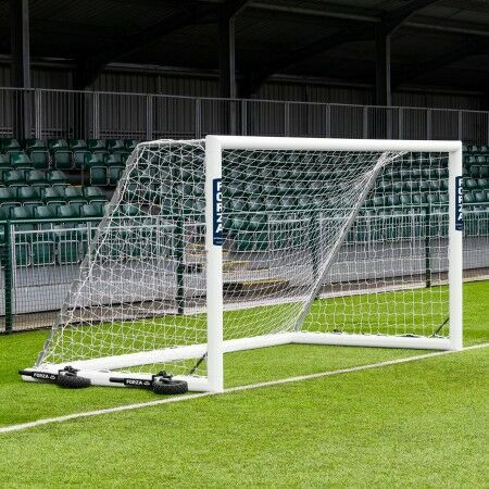 12 x 6 FORZA Alu110 Freestanding Football Goal