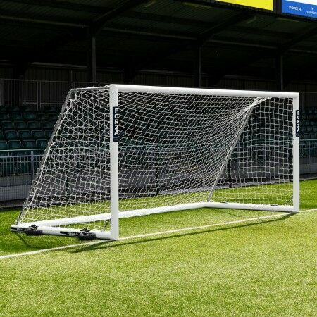 16 x 7 FORZA Alu110 Freestanding Football Goal