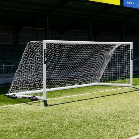 18.5 x 6.5 FORZA Alu110 Freestanding Football Goal