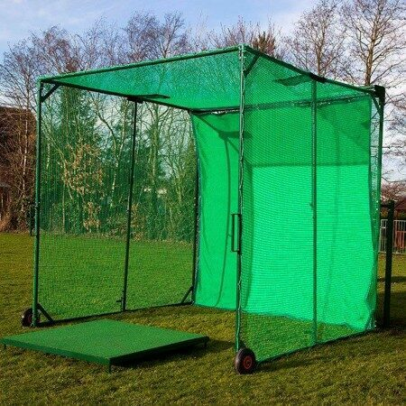 Concertina Golf Cage | Golf Practise Nets