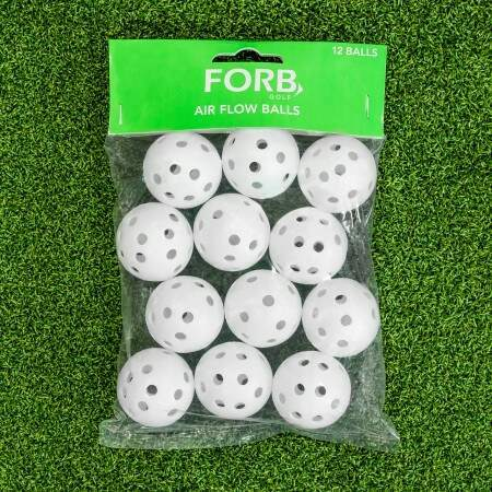 FORB Air Flow Practice Golf Balls [12 Pack] | Net World Sports
