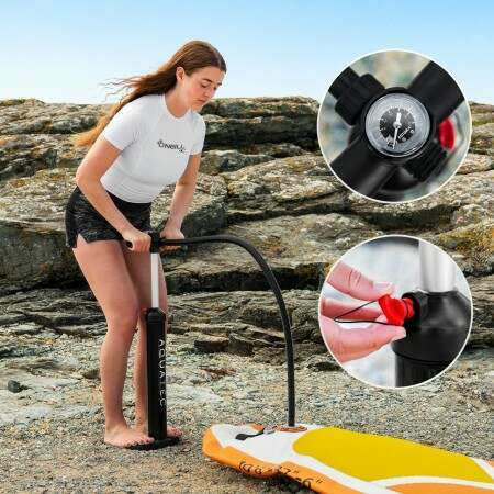 AquaTec Dual-Action Hand Pump | Net World Sports