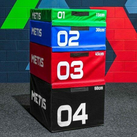 METIS Soft Foam Plyometric Jump Box Set | Net World Sports