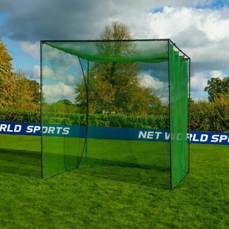 Freestanding Golf Cage With Golf Impact Panel | Net World Sports