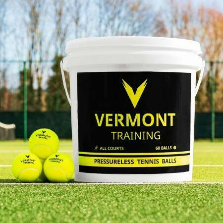 Vermont Cricket Training Balls & Carry Bucket
