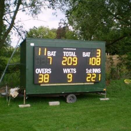 Premier Electronic Cricket Scoreboard [With Enhanced Batsman ID] | Net World Sports