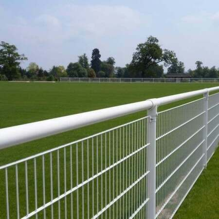 White Premier Crowd Barrier